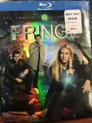 Fringe The Complete Second Season Blu-ray Disc, 2010, 4-disc Set New 8c