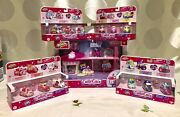 Shopkins Cutie Cars Playset - Drive Thru Diner And 4 Collections