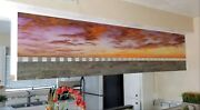 Wall Handmade Painting Mural Mosaic And Stone Kitchen Cabinet Landscape Art Decor