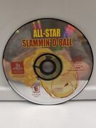All-star Slamminand039 D-ball Disc Only 588esony Playstation 1 2002