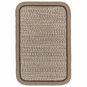 Wool Area Rugs Braided Rug Country Cottage Farmhouse Decor Rug In Mocha