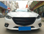 For Mazda3 Axela 2014-16 Front Bumper Grille Grill Black Cover Modified Resin