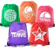 Mato And Hash Tennis Backpacks| Drawstring Bags For Camp, Parties, And Fundraisers