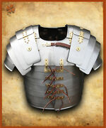 Imperial Roman Lorica. Steel With Brass Decorations