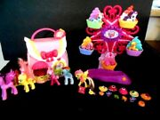 My Little Pony Ferris Wheel And Fancy Fashions Boutique House With Accessories