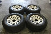 2017 Ford F250 Super Duty Oem Factory 18andrdquo Wheels Goodyear Tires