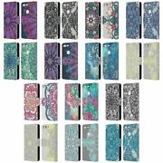 Official Micklyn Le Feuvre Mandala 3 Leather Book Wallet Case For Google Phones