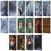 Official Anne Stokes Yule Leather Book Wallet Case For Samsung Galaxy Tablets