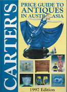 Carters Price Guide To Antiques Austasia 1997 + Aust And Collectibles 1995 2 Books