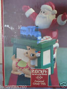 Retired Lenox Rudolph The Red Nose Reindeer Candy Dish Nib