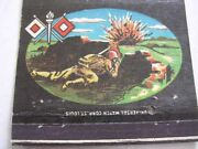 Signal Corps Camp Crowder Missouri 40 Strike Matchcover Can Use As A Postcard