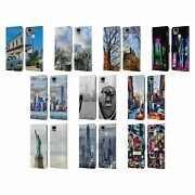 Official Haroulita Places Leather Book Wallet Case Cover For Asus Zenfone Phones