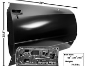 Chevy,chevrolet Monte Carlo Door Shell Passenger Side Right 1981-1985