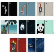 Official Barruf Animals Leather Book Wallet Case For Apple Ipad