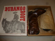 New W Tag Durango Old West Western Womans Boots Sw552 Opryland Nwt Size 7d Brown
