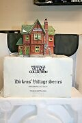 Dept 56 Browning Cottage Dickensand039 Heritage Village W Box 5824-6 Lighted