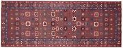 Antique Traditional Decorative Oriental Rug In Runner Size W/ Free Shipping
