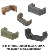 Tango Down Vickers Extended Magazine Release For Glock 43 Choose Color