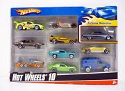 Hot Wheels 10-car Pack Die-cast Cars Exclusive Decoration Mib Complete 2009