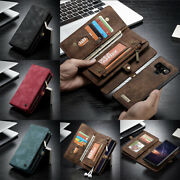 For Samsung Galaxy Note 20 S21 Genuine Caseme Magnetic Leather Wallet Case Cover