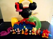 Disney Mickey Mouse Clubhouse Lot Slide Camping Set Playset With Accessories