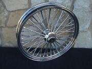 21x3.5 Dna Fat Mammoth 40 Spoke Front 2007-up Abs Wheel Harley Heritage Deluxe