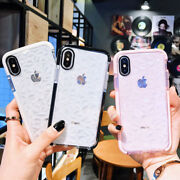 For Iphone Xs Max Xr 6 7 8 Plus Shockproof Clear Diamond Covers Airbag Soft Case