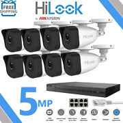 Hikvision Hilook 8mp Ip Poe Nvr 4ch 8ch Cctv Camera 5mp Hd Outdoor Cameras Kit