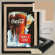 32wx44h Have A Coke Coca Cola Taste The Feeling - Double Matte, Glass And Frame