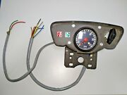 Vintage Vdo Dashboard Zundapp With Speedometer Speedometer Cable And Meter Gear