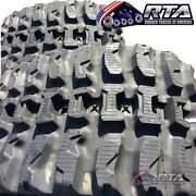 Two Rubber Tracks Fits Mustang 2100rt 450x86x56 Q Tread Pattern Free Shipping