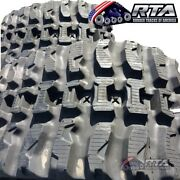 Two Rubber Tracks Fits Ihi Cl45 450x86x56 Q Tread Pattern Free Shipping