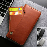 For Samsung Galaxy Note 10 20 S21+ Original Cmai2 Leather Wallet Flip Case Cover