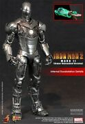 Hot Toys Iron Man 2 Mark Ii Armor Unleashed Sixth Scale Figure Exclusive Mms150