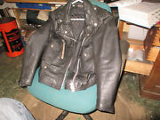 Harley Vintage Size 36 Small Leather Motorcycle Jacket