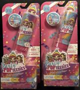 Party Popteenies Double Surprise Popper Pop Blind Confetti Lot Of 2 Toys New