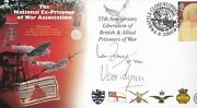 Pow First Day Cover Signed By Dame Vera Lynn-earl Haig And Ian Fraser Aftal 198
