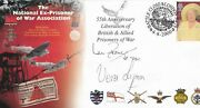 Dame Vera Lynn-earl Haig And Ian Fraser Signed Pow First Day Cover Aftal 198