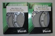 Honda 01-04 Trx500 Rubicon 4x4 Front Brake Shoes Made In Japan