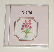 Monogram No. 14 Embroidery Card Fits Baby Lock, Bernina, Brother Sewing Machines