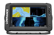 Lowrance Elite-9 Tiandsup2 Fishfinder/chartplotter With Active Imaging 3-in-1 Transduc