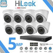 Hikvision Hilook Cctv System Ip Poe 4ch 8ch 8mp Nvr Camera 5mp Night Vision Kit