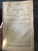 Congress 1854 John Charles Freemont Indian Affairs Califonia Report Collectible