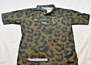 Nikelab Fc Real Bristol Jersey - Choose Size - 716119-300 Olive Camo Fcrb Polo