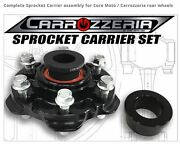 Yamaha Complete Sprocket Carrier Assembly Core Moto / Carrozzeria Rear Wheels