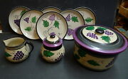 Decorated Pacific Pottery Early Set