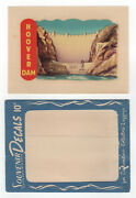 Vintage Meyercord Travel Decal Hoover Dam - Rv, Airstream, Hot Rod, Woody
