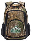 Michigan State Camo Backpack Realtree Michigan State Peace Frog Computer Bag