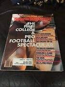 Sports Illustrated 1982 Special Issue, 1st College And Pro Football Spectacular