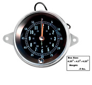 Chevy Chevrolet Impala Console Mounted Clock 1965